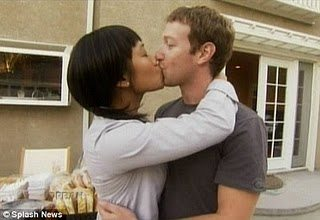 Mark Zuckerberg and girlfriend