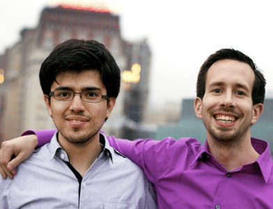 Jason Baptiste and Andres Baretto cofounded breakout Techstars company, OnSwipe.