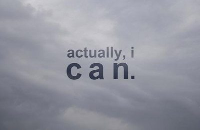 I can do it Picture Quote