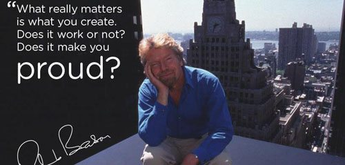 Richard Branson Advice Picture Quote