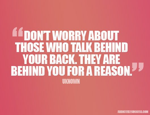 Talk-Behind-Your-Back-Picture-Quote