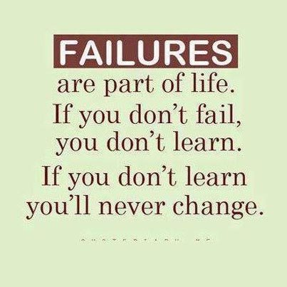 failures picture quote