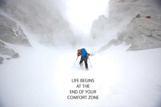 Comfort Zone Picture Quote
