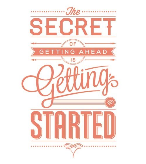 Inspirational-Typography-Picture-Getting-Started