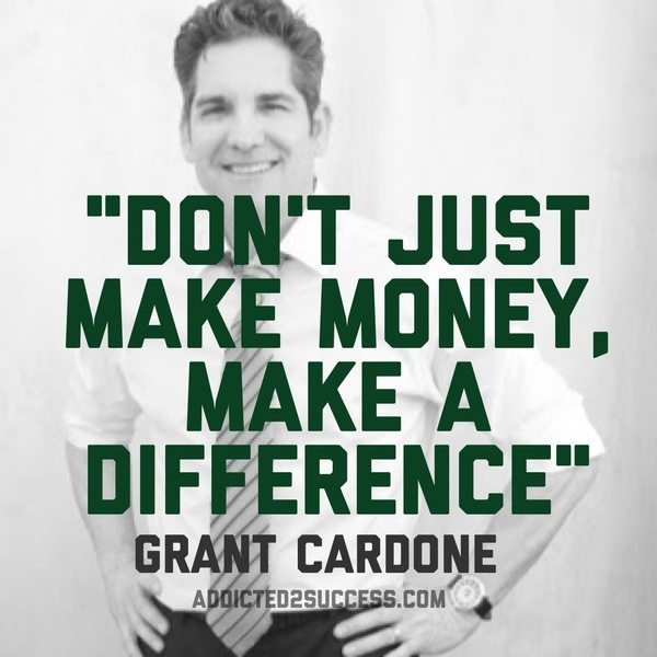 Quotes About People Who Notice: 25 Awesome Grant Cardone Picture Quotes