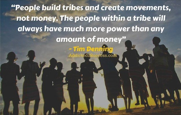 Tim Denning - Building Online Tribes For A Game-Changing Movement