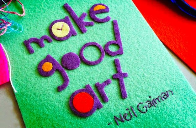 Neil Gaiman - Make Good Art Speech And Book